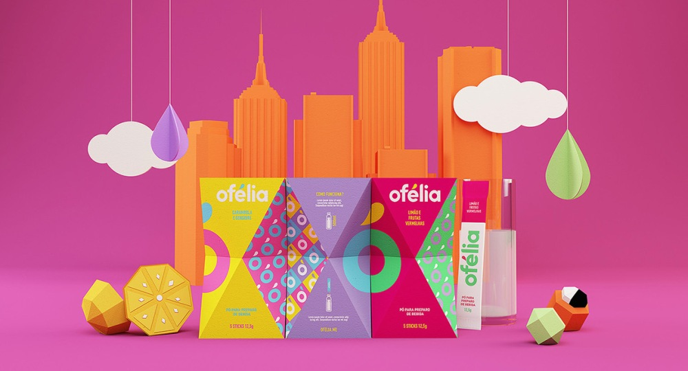 amazing colorful packaging design dieline article ofelia